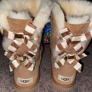 UGG BAILEY BOW BOOTS
